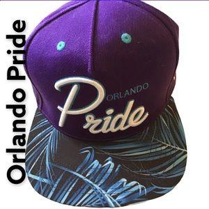 Orlando Pride Hat w/ Adjustable Back